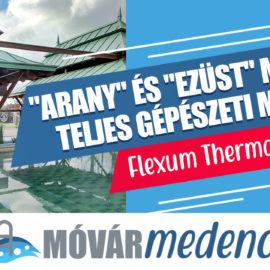 """Flexum Thermal & Spa """"arany"""" és """"ezüst"""" medencéjének teljes gépészeti munkái"""